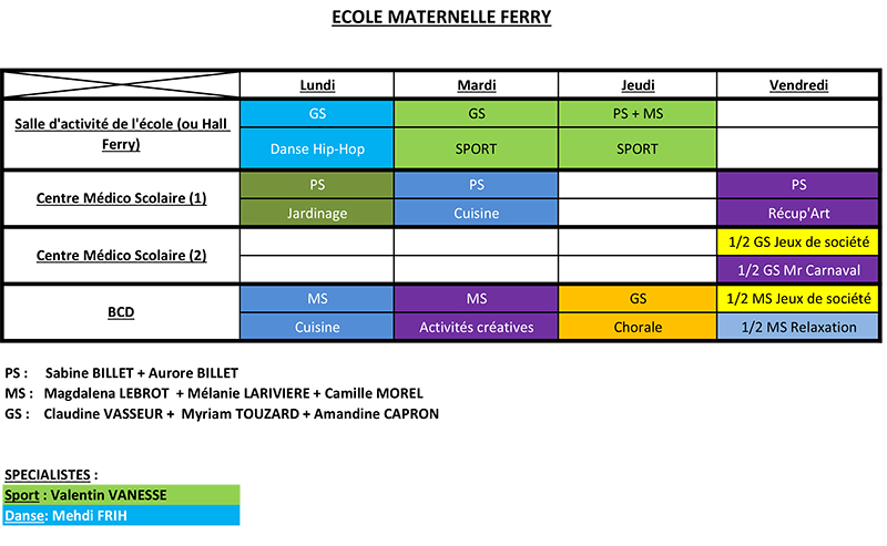 ecolematernelleferry